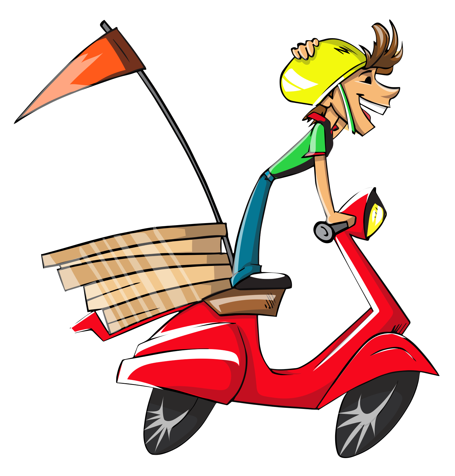 clipart delivery man - photo #41