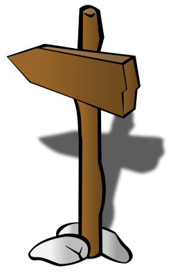 Direction Arrow PNG Transparent Image