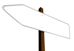 Direction Arrow Sign PNG Transparent Image