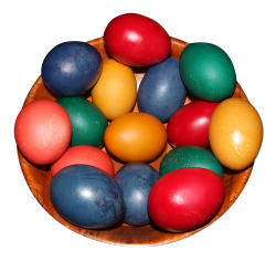 Easter Eggs PNG Transparent Image