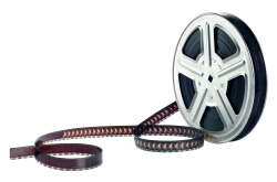 Film Reel PNG Transparent Image