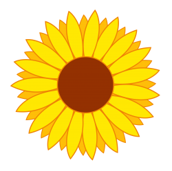 Flower Vector PNG Transparent Image