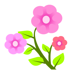Flowers Vector PNG Image