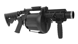 Grenade Launcher PNG Transparent Image