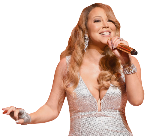 Mariah Carey PNG Transparent Image