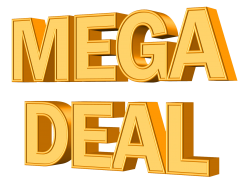 Mega Deal PNG Transparent Image