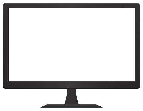 Monitor PNG Transparent Image