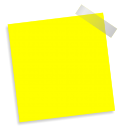 Paste Note PNG Transparent Image