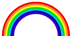 Rainbow PNG Transparent Image
