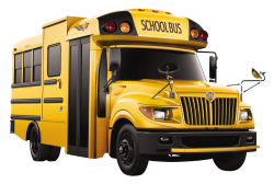 School Bus PNG Transparent Image