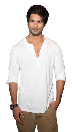 Shahid Kapoor PNG Image