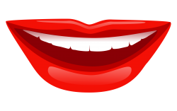 Smile Lips PNG Transparent Image
