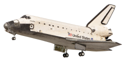 Space Shuttle PNG Transparent Image