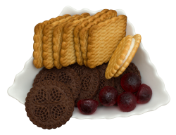 Sweet Biscuit Tray PNG Transparent Image