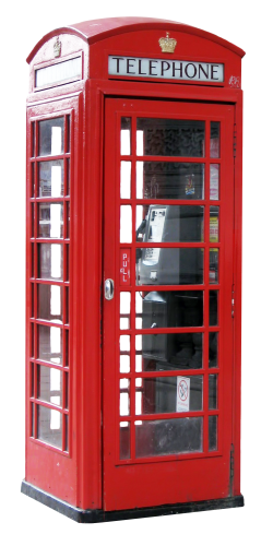 Telephone Booth PNG Transparent Image