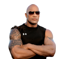 The Rock PNG Transparent Image