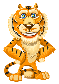 Tiger Vector PNG Image