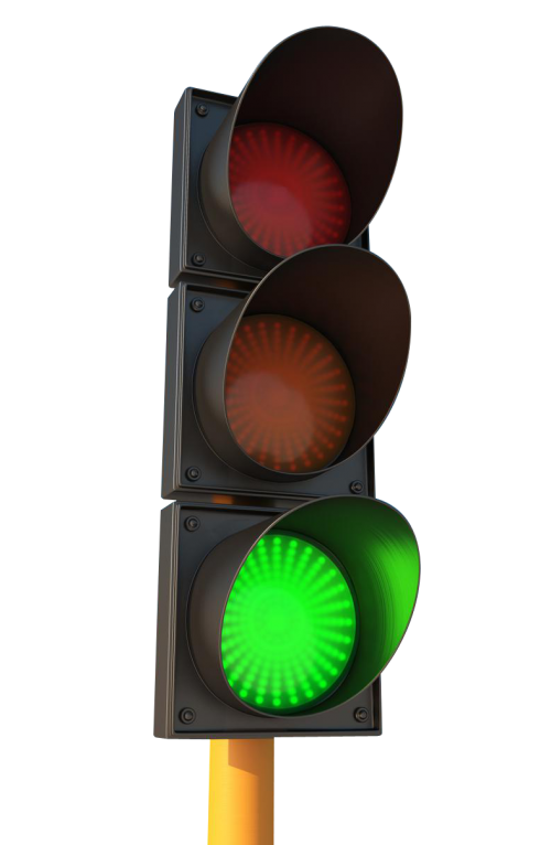 Traffic Light PNG Transparent Image