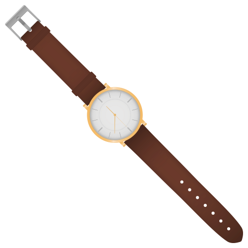 Watch Vector PNG Transparent Image