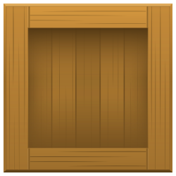 Wood Box Vector PNG Transparent Image