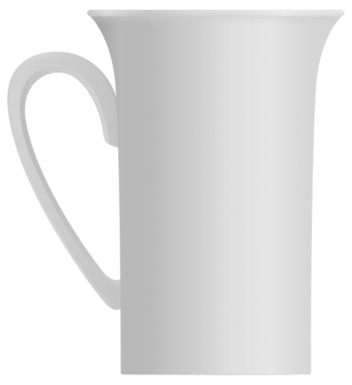 Coffee Mug Vector PNG Transparent Image