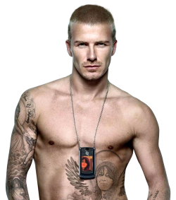 David Beckham PNG Transparent Image
