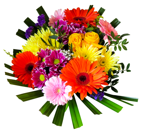 Flower Bouquet PNG Transparent Image
