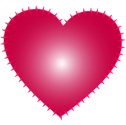 Heart Vector PNG Transparent Image