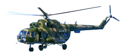 Military Helicopter PNG Transparent Image