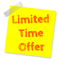 Offer Sticky Note PNG Transparent Image