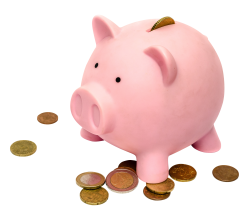 Piggy Bank PNG Transparent Image