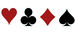 Playing Card Symbols PNG Transparent Image