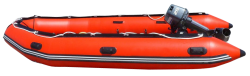 Rescue Boat PNG Transparent Image