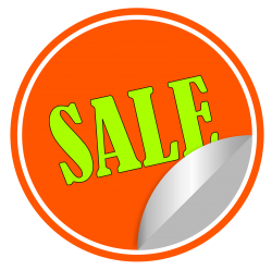 Sale Sticker Vector PNG Transparent Image