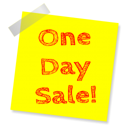 Sale Sticky Note PNG Transparent Image