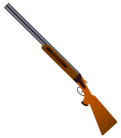 Shotgun Vector PNG Transparent Image