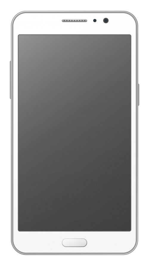 Smartphone Vector PNG Transparent Image