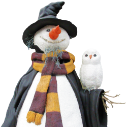 Snow Man PNG Transparent Image