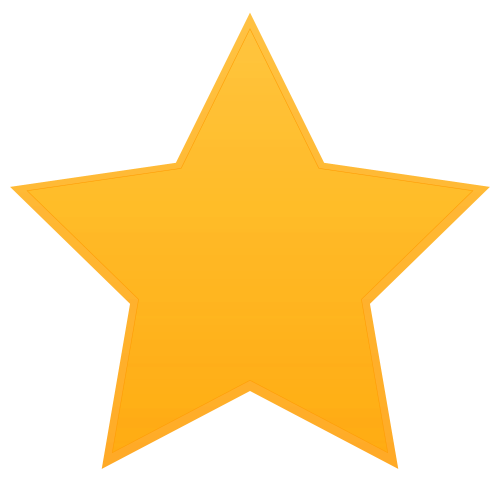 Star Vector PNG Transparent Image