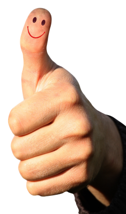 Thumbs Up PNG Transparent Image