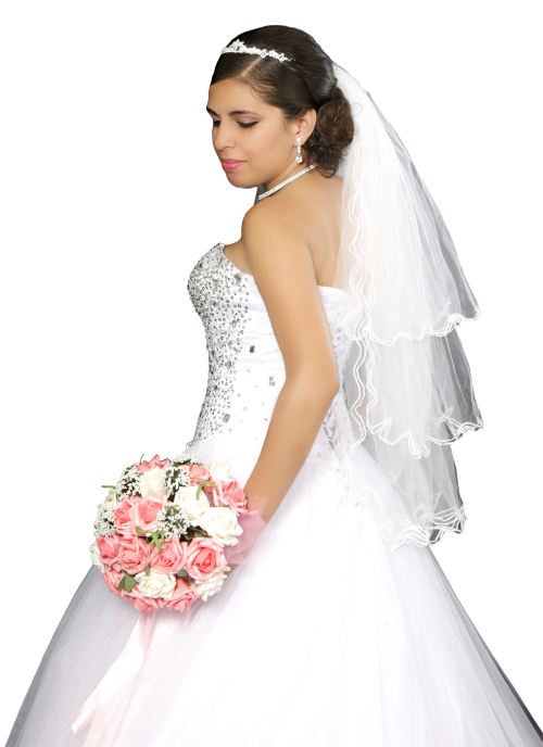 Wedding Girl PNG Transparent Image