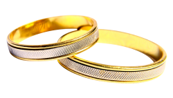 Wedding Rings PNG Transparent Image