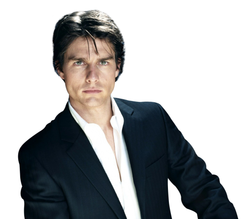 Tom Cruise PNG Transparent Image