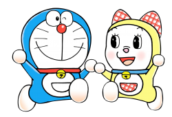 Doreamon And Doreami PNG Transparent Image