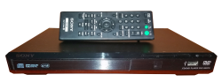 Sony DVD Player PNG Transparent Image