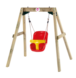 Wooden Baby Swing PNG Transparent Image